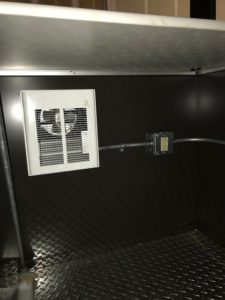 Guard Booth Heater and GFCI Receptacle
