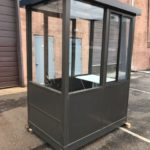 4 x 6 Prefabricated Aluminum Guard Booth