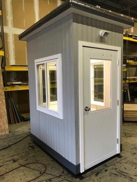 4 x 6 Guard Booth-PlanA-Model#46GHA