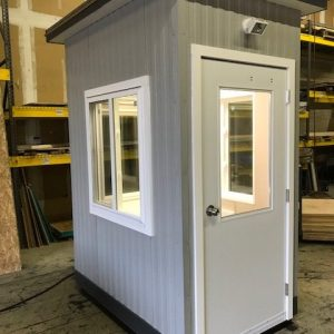 4 x 6 Guard Booth-PlanA-Model#46GHA