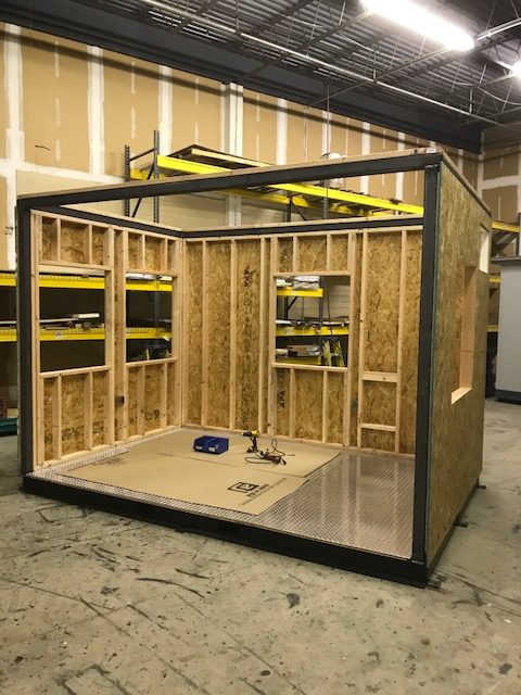 Structural Steel-8x10 Guard Booth