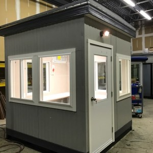 8 x 8 Guard Booth