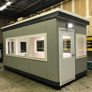 8 x 20 Guard Booth-PlanA