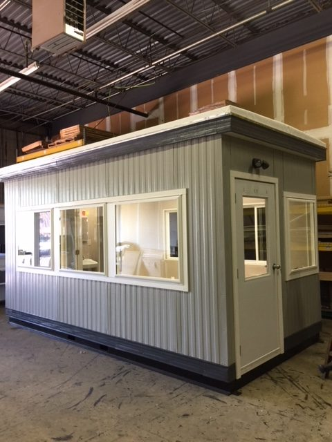 8 x 16 Guard Booth with Restroom-Non ADA
