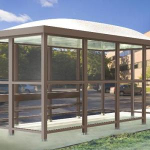5 x 10 Bus Stop Shelter Dome