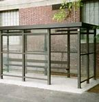 5 x 10 Bus Stop Shelter 1 Opening