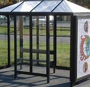 5 x 10 Bus Stop Shelter Hip 2 Opening