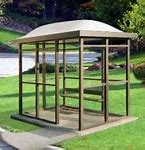 8 x 15 Bus Stop Shelter Dome 1 Opening
