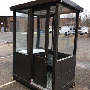4 x 6 guard booth sliding door