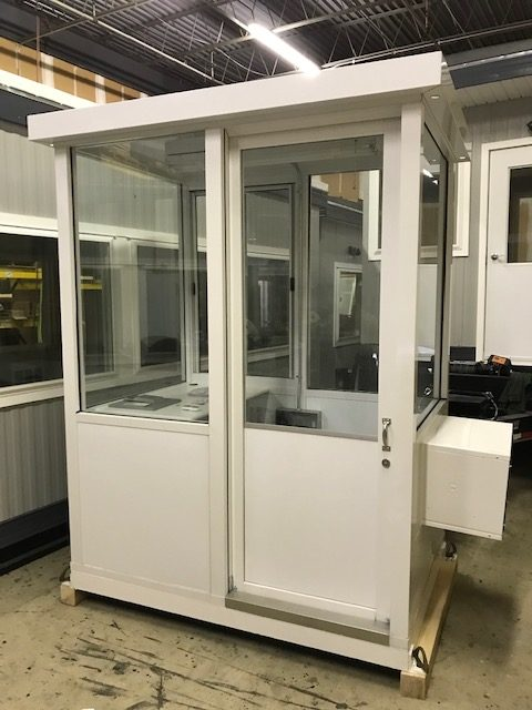 4 x 6 Guard Booth with air conditioner