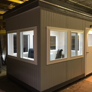 8 x 12 Guard House-PlanB-812GHB