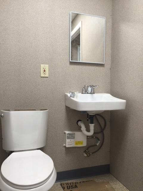 8 x 14 Guard House-Restroom-Interior