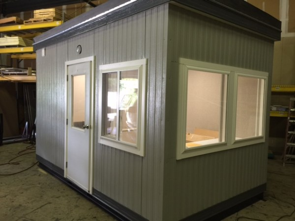 8 x 14 Guard House-Restroom-814GHR
