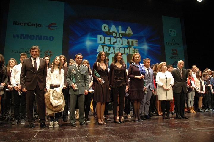 """El Servicio de Montaña de Aragón galardonado con el premio """"Aragón a los Valores en el Deporte 2014"""""""