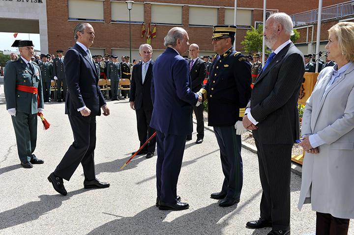 """Fernández Díaz: """"La Guardia Civil está considerada como la mejor respuesta para conseguir la paz y el bienestar de los españoles"""""""