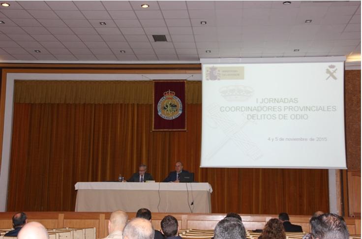La Guardia Civil celebra las I Jornadas sobre Delitos de Odio con la colaboración de Fiscalía y asociaciones de víctimas