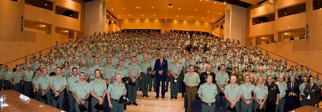 El Director General de la Guardia Civil inaugura el curso 2016-17 en la Academia de Oficiales de Aranjuez