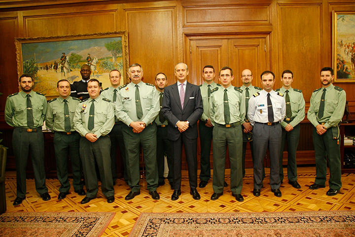 El Director General ha recibido a varios integrantes del XIV Curso de Estado Mayor de las Fuerzas Armadas