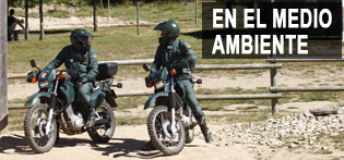 Funciones de la Guardia Civil, En medio ambiente