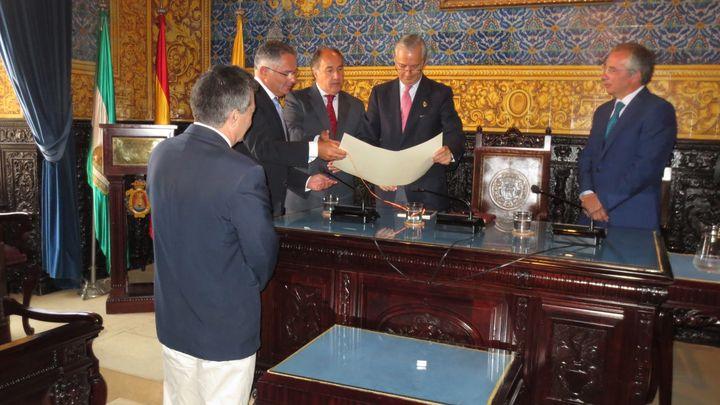 El Director General de la Guardia Civil se reúne con los mandos de la Comandancia de Algeciras