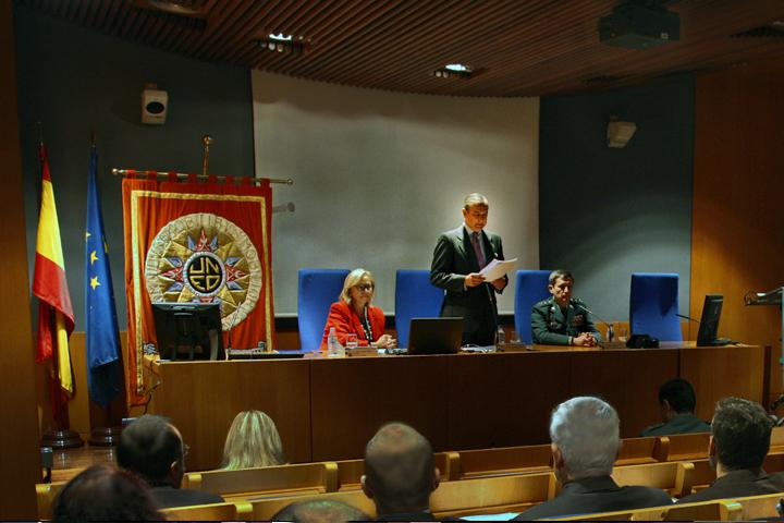 """El Director General de la Guardia Civil inaugura el """"II Seminario de Prevención de Blanqueo de Capitales"""""""