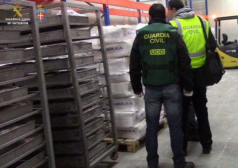 Desmantelada en Italia una red que pretendía comercializar 30 toneladas de pescado potencialmente peligroso para la salud