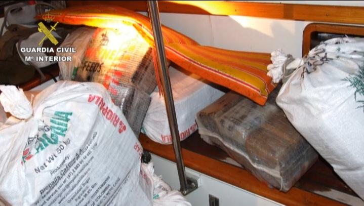 La Guardia Civil imputa a seis personas por blanquear capitales procedentes del narcotráfico