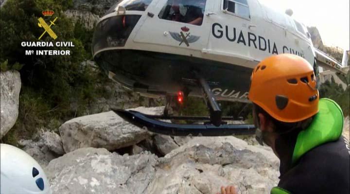El Servicio de Montaña de la Guardia Civil ha rescatado a 343 personas durante los meses de junio y julio