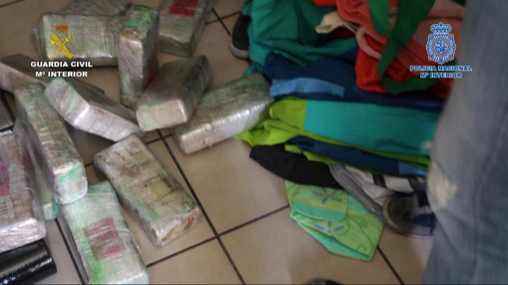 La Guardia Civil y la Policía Nacional desarticulan un grupo organizado dedicado al tráfico de drogas