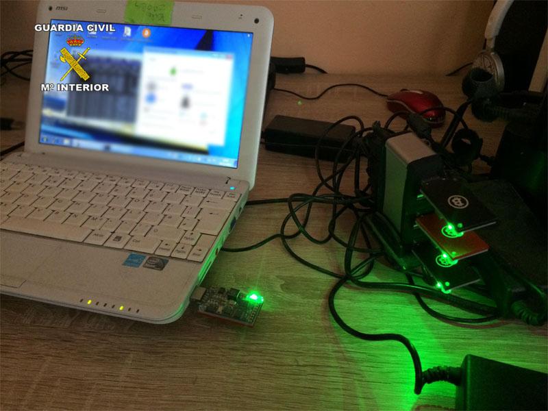 La Guardia Civil detiene a uno de los objetivos de la macro operación ONYMOUS contra los mercados clandestinos en la Deep Web