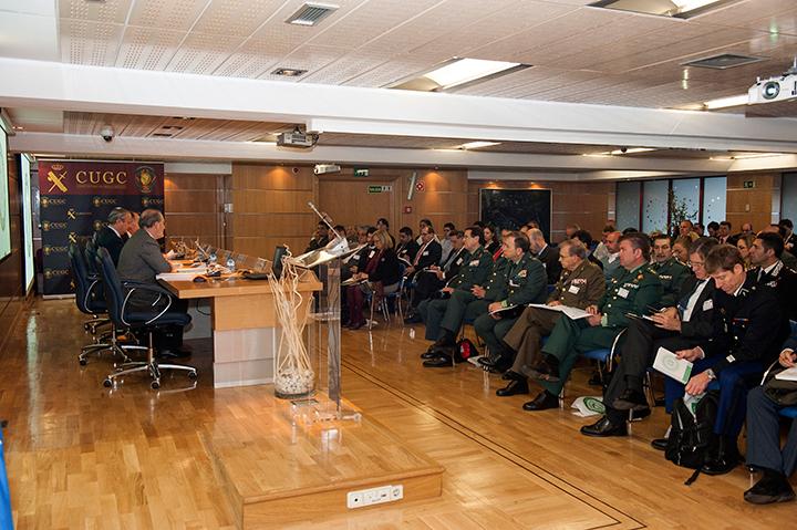 """La Guardia Civil pone en marcha la Cátedra en Alta Dirección de la Seguridad con el Seminario internacional """"Estándares Europeos en Seguridad"""""""
