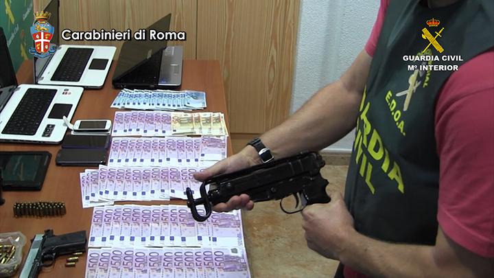 Desmantelado un grupo criminal dedicado al tráfico internacional de drogas