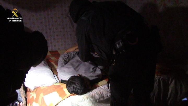La Guardia Civil desarticula una organización criminal especializada en robo de cobre y que  actuaba con extrema violencia