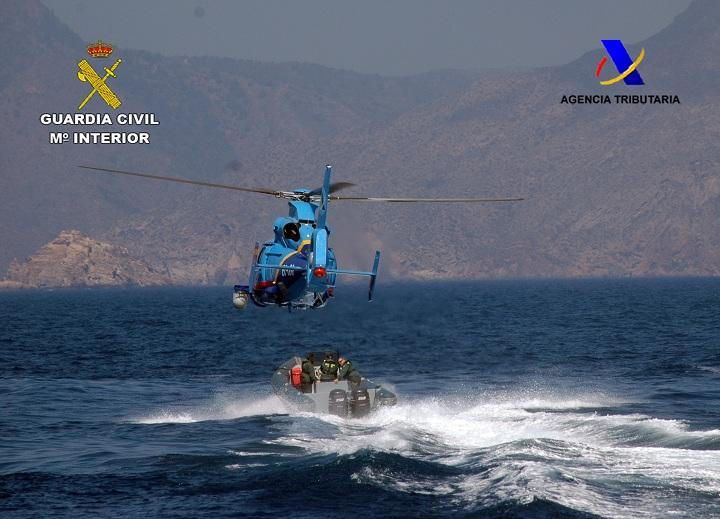 La Guardia Civil y Agencia Tributaria realizan un ejercicio práctico orientado a prevenir y perseguir el tráfico de drogas