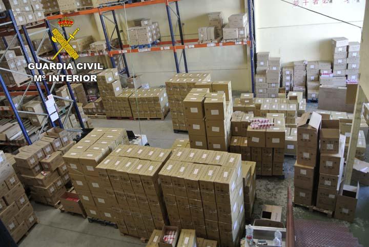 La Guardia Civil detiene a tres personas por comercializar consumibles informáticos falsificados en España y Europa