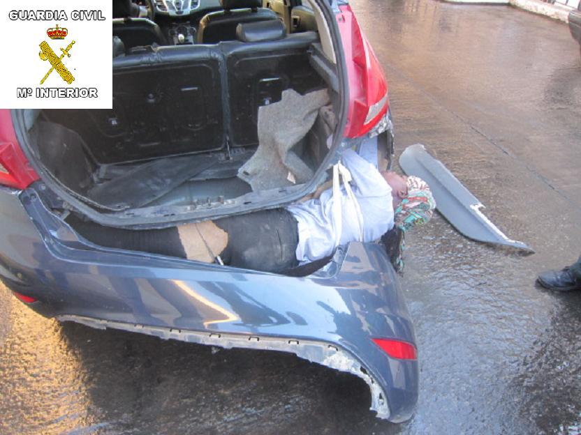 Intensa lucha de la Guardia Civil contra las mafias que trafican con seres humanos