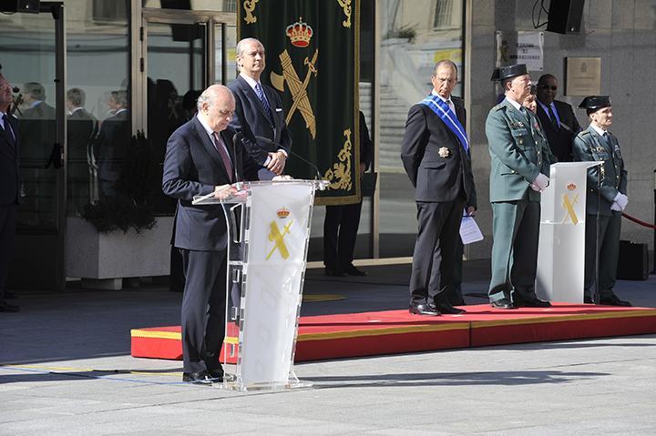 Los ministros de Interior de España y Marruecos visitan las instalaciones del Centro de Coordinación y Vigilancia Marítima de la Guardia Civil