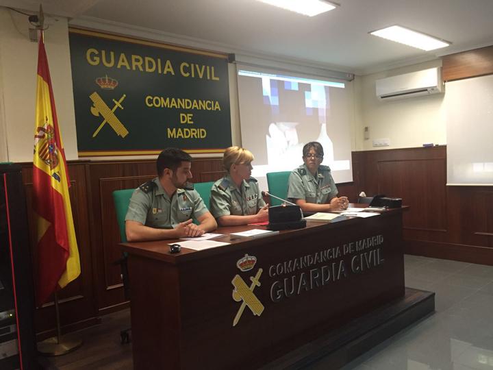 El Equipo de Análisis de Comportamiento Delictivo comienza a trabajar en la Comandancia de la Guardia Civil de Madrid