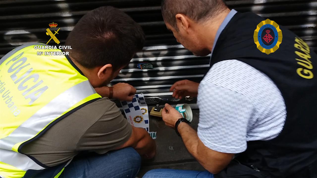Clausurada en Barcelona una asociación cannábica utilizada para el tráfico de drogas