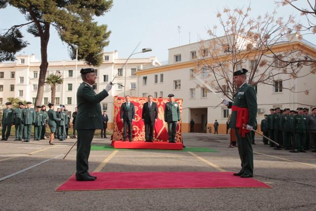 Toma de Posesión del nuevo General Jefe de la Zona de Valencia