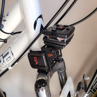 Rotatable Bike Strap with Magnetic Mount