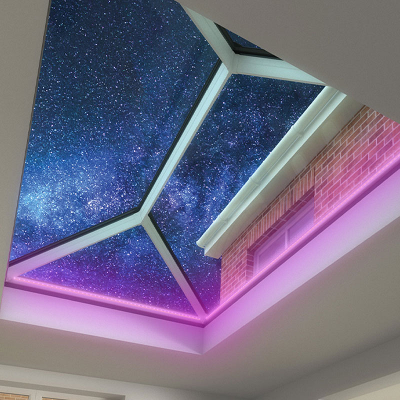 flat conservatory roof