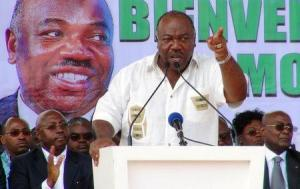 Demonstrators in Gabon clashed with police and set part of the parliament building on fire on Wednesday amid anger among opposition supporters over President Ali Bongo's re-election in polls that his main rival, Jean Ping, claimed to have won.