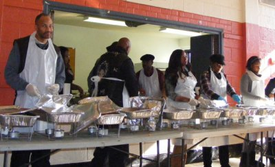 2013 Thanksgiving Outreach Edgemere Community Center, Far Rockaway, NY.