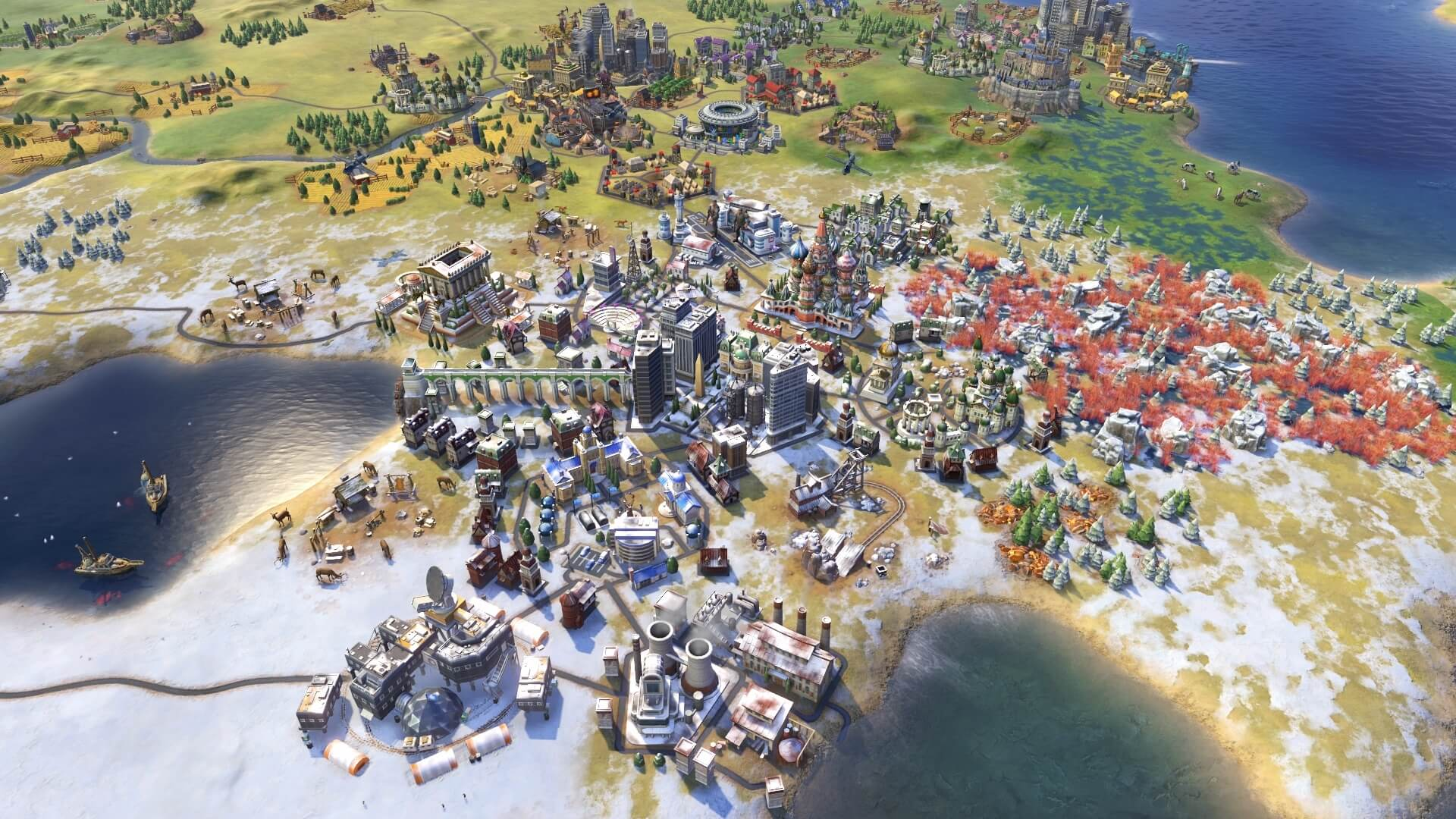 Civilization VI Gathering Storm Neve