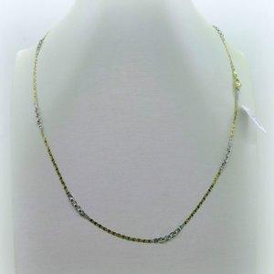 Collana in oro 18 ct 50 cm