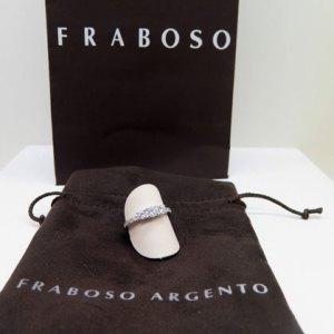 ANELLO FEDINA TRILOGY IN ARGENTO 925 FRABOSO ARGENTO