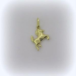 Ciondolo cavallino Ferrari in oro giallo 18 ct