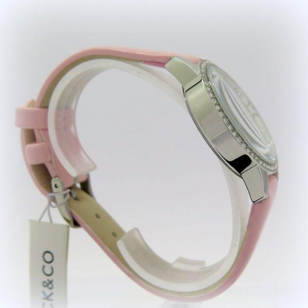 Orologio rosa cinturino e lancetta donna ragazza jack e co