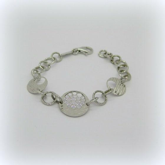 Bracciale Fraboso argento 925 diamantato
